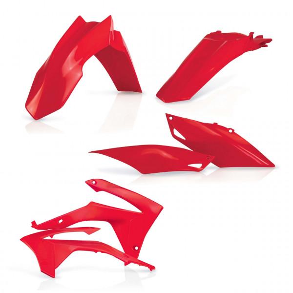 Acerbis Plastik Kit CRF 250 14-17 + CRF 450 13-16 Rot