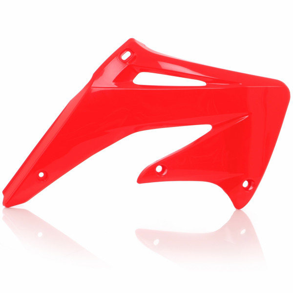Acerbis Kühlerverkleidung CRE 250 F 04 + CRF 450 02-04 Rot