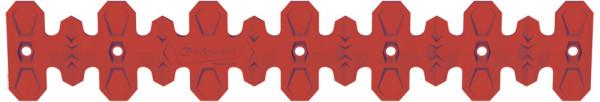 Polisport Krümmerschutz Armadillo 40cm rot