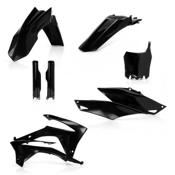 Acerbis Full Plastik Kit CRF 250 14-17 + CRF 450 13-16 Schwarz