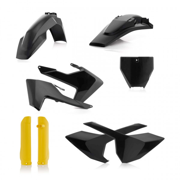 Acerbis Full Plastik Kit TC/FC 16-18 (NO TC 250 16) Schwarz Gelb