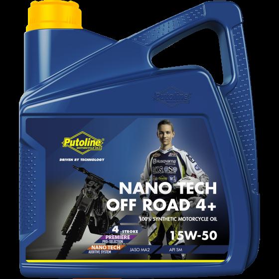 Putoline NANO TECH OFF ROAD 4+ 15W-50 4L