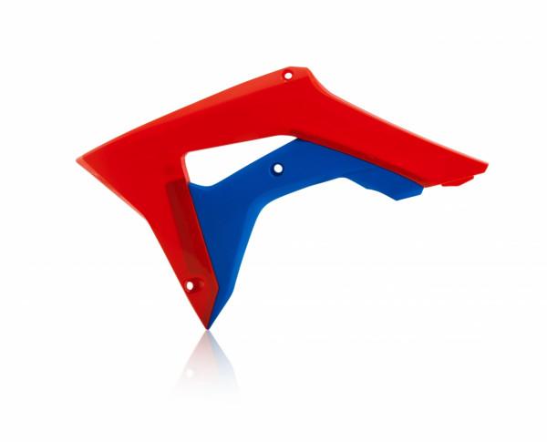 Acerbis Kühlerverkleidung CRF 450 17-19 + CRF 250 18-19 Rot Blau